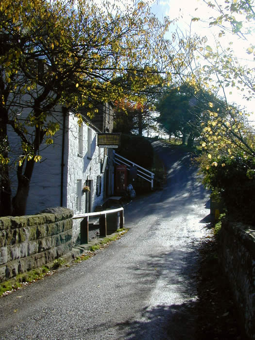 thumbnail of a bright November morning, the Birch Hall Inn, Beck Hole