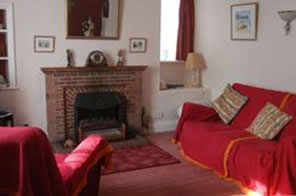The cosy sitting room at Birch Hall Cottage, Beck Hole
